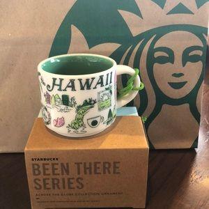 Starbucks Hawaii Been There Series mug ornament